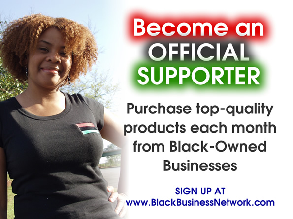 Become a Black Business Supporter