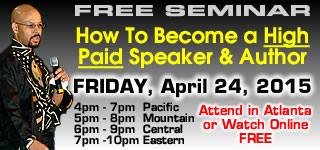 Free Speaker/Author Traning Workshop / SuccessQuest Bootcamp Preview