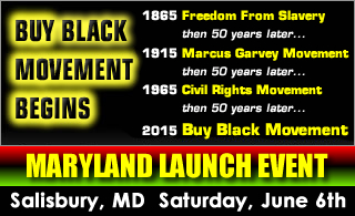 Buy Black Movement Begins - Salisbury, Maryland
