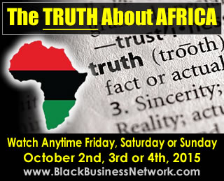 The TRUTH About Africa - ONLINE REPLAY