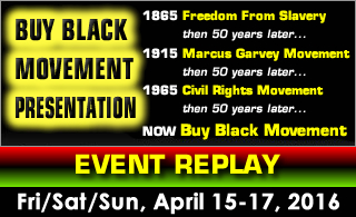 Buy Black Movement Presentation REPLAY