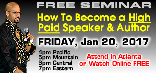 How To Become a High-Paid Speaker & Author