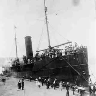One of Marcus Garvey's Black Star Line Steam Ships