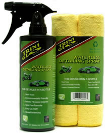 TriniGlo Waterless Detailing Spray